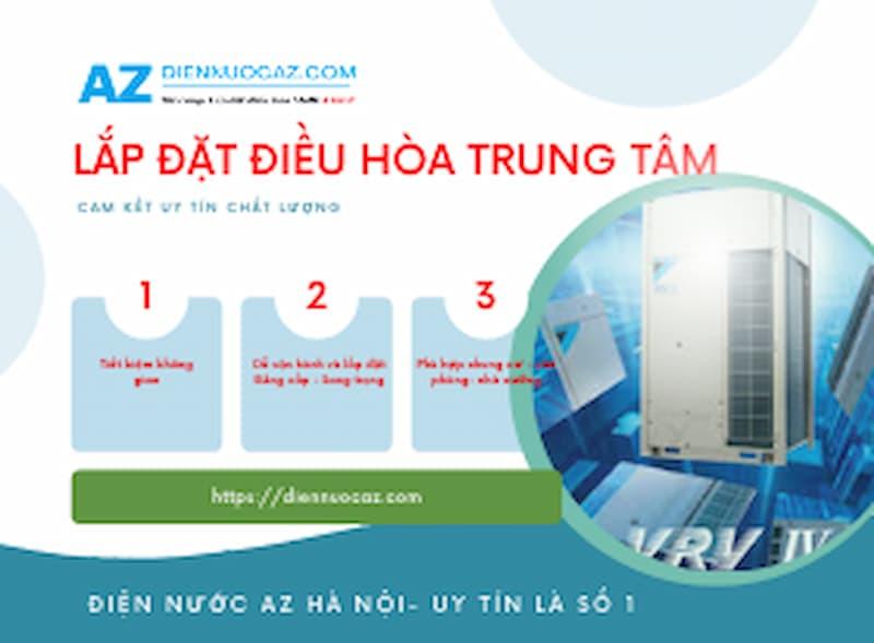 Lắp đặt điều hòa trung tâm tại Hà Nội