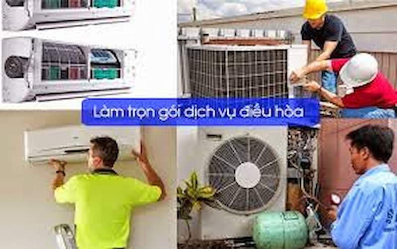 Bảo dưỡng vệ sinh điều hòa trọn gói