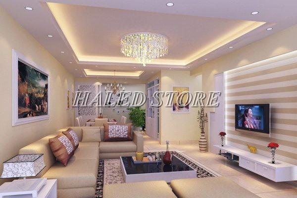 Đèn LED âm trần RDDA AT10 90-7 chiếu sáng phòng khách