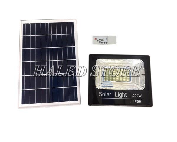 Đèn pha cao áp năng lượng mặt trời 200w
