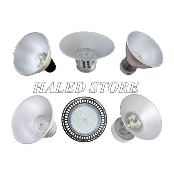 Kiểu dáng đèn nhà xưởng cao áp 150w phổ biến hiện nay