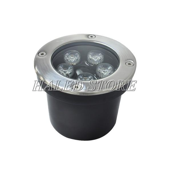 Kiểu dáng đèn LED âm đất HLDAUG1-5 RGB