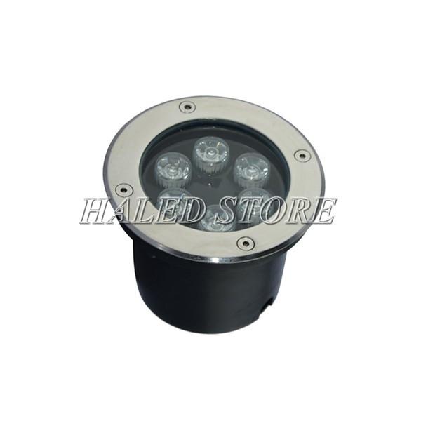 Kiểu dáng đèn LED âm đất HLDAUG1-6 RGB
