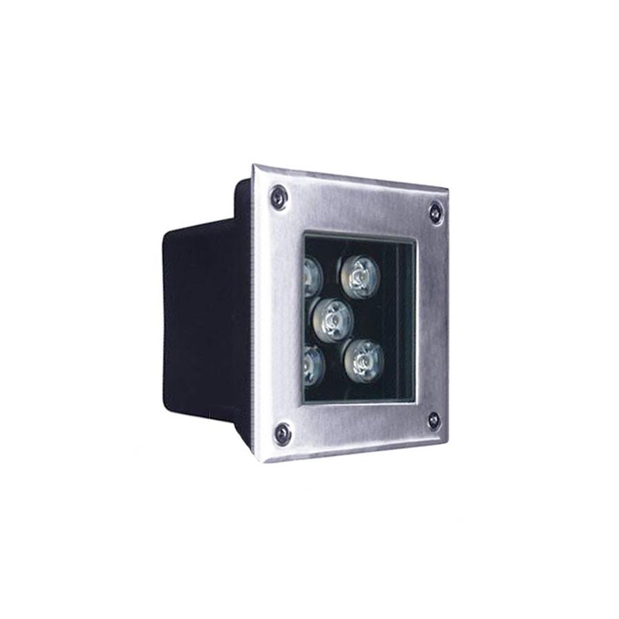 Kiểu dáng đèn LED âm đất HLDAUG2-5 RGB
