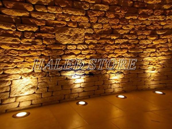 Ứng dụng chiếu sáng của đèn LED âm đất HLDAUG1-9