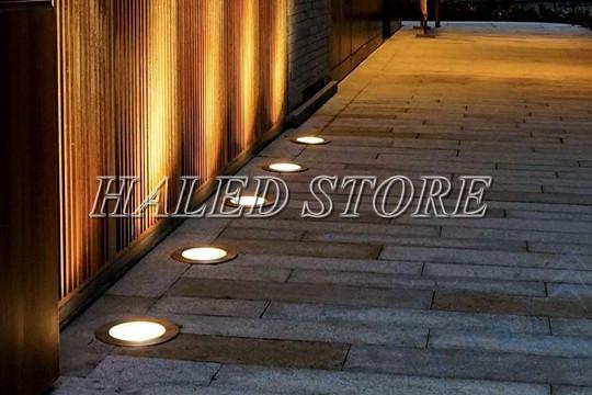 Ứng dụng chiếu sáng của đèn LED âm đất HLDAUG1-15