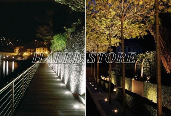 Ứng dụng chiếu sáng của đèn LED âm đất HLDAUG2-6