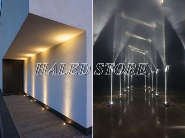 Ứng dụng chiếu sáng của đèn LEDM âm đất HLDAUG2-9