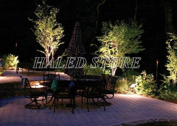 Ứng dụng của đèn LED âm đất HLDAUG2-12 rgb