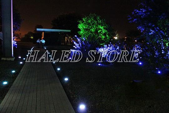 Ứng dụng chiếu sáng của đèn LED âm đất HLDAUG1-9 RGB