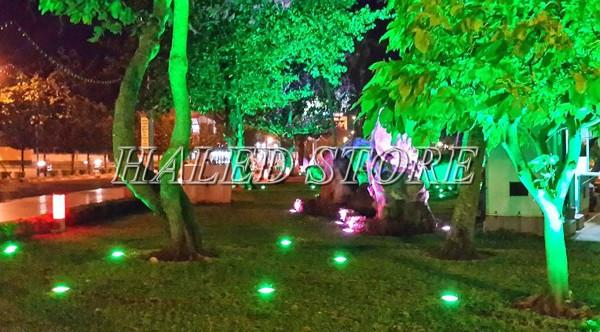 Ứng dụng chiếu sáng của đèn LED âm đất HLDAUG5-3 RGB