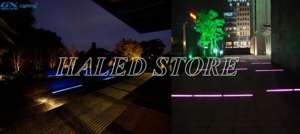 Ứng dụng chiếu sáng của đèn LED âm đất HLDAUG3-12 RGB