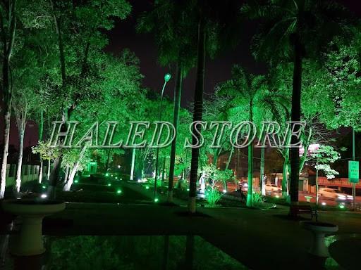 Ứng dụng chiếu sáng của đèn LED âm đất HLDAUG5-10 RGB