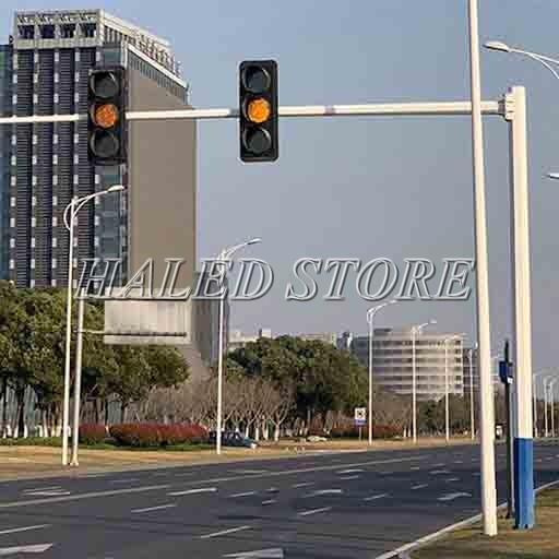 Ứng dụng của cột đèn biển hiệu giao thông