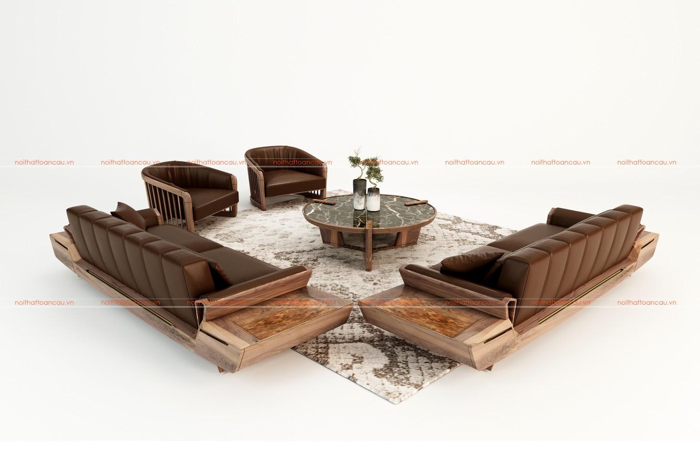 Sofa gỗ  TC146 e